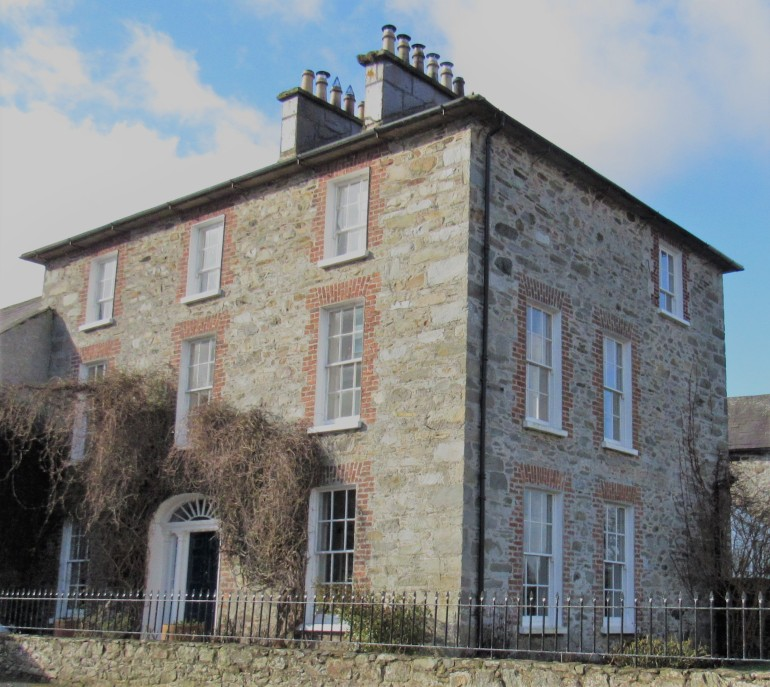 Georgian house at Ramelton