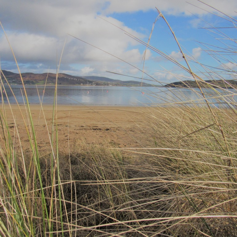 sand dune at Rathmullan