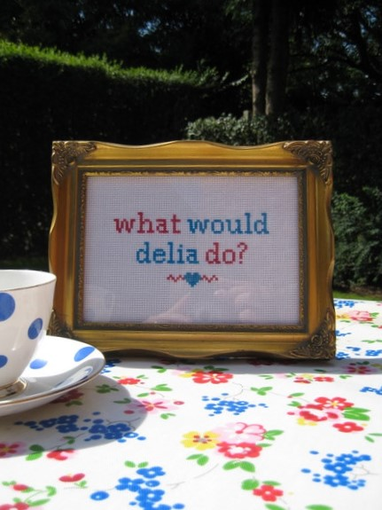 what would delia do