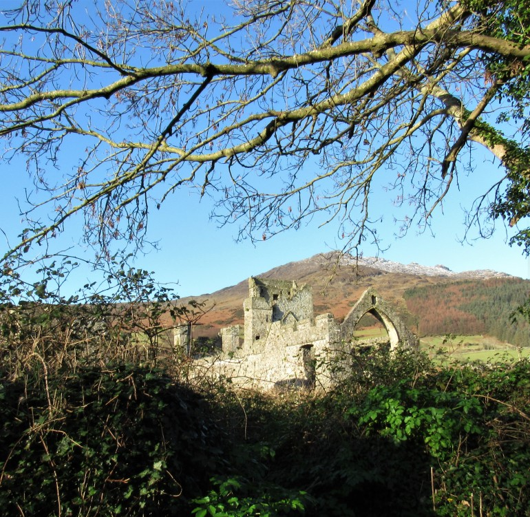Dominican abbey at Carlingford